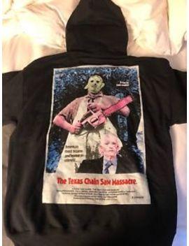 Travis Scott X Leatherface Hoodie Halloween Small X Texas Chainsaw Massacre&Nbsp; by Ebay Seller