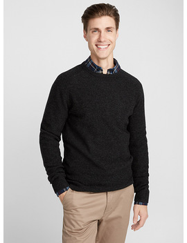Lambswool Crew Neck Sweater by Le 31