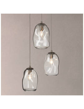 Croft Collection Burdock 3 Pendant Cluster Ceiling Light by Croft Collection