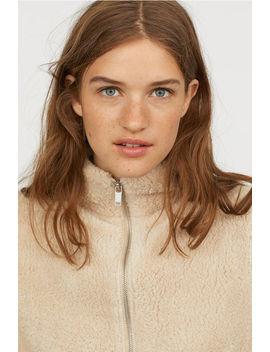 Късо яке от мъхеста материя by H&M