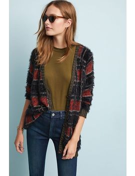 Sparkly Plaid Cardigan by Ottod'ame