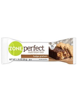Zone Perfect Nutrition Snack Bars, Fudge Graham, 1.76 Oz, (30 Count) by Zone Perfect