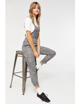 Glen Plaid Overalls by Ardene