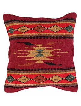 El Paso Designs Aztec Throw Pillow Covers, 18 X 18, Hand Woven In Southwest And Native American Styles. 13 by El Paso Designs