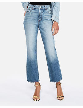 High Waisted Original Cropped Straight Jeans by Express