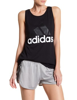 Essentials Linear Loose Tank Top by Adidas