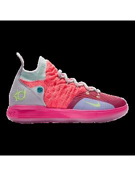 Nike Kids' Kd River Champ Grade School Basketball Shoes   Punch/Platinum by Sport Chek