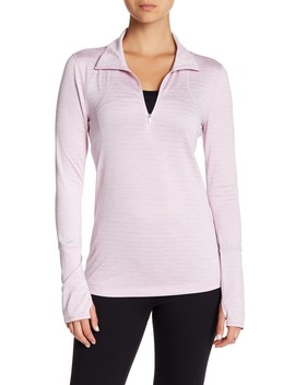 Half Zip Fitted Pullover by Z By Zella