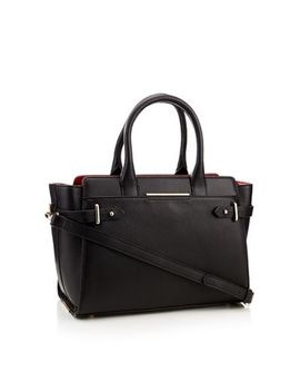 J By Jasper Conran   Black 'brompton' Leather Bag by J By Jasper Conran