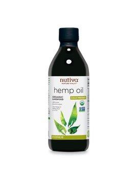 Nutiva Organic Hemp Oil, 16 Fl Oz by Honest Green