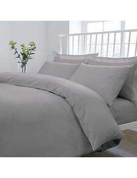 Fogarty Soft Touch Slate Grey Duvet Cover And Pillowcase Set by Dunelm