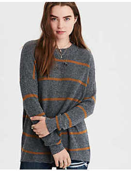 Ae Striped Pullover Sweater by American Eagle Outfitters