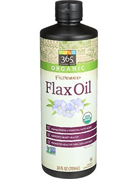 365 Everyday Value, Organic Filtered Flax Oil, 24 Fl Oz by 365 Everyday Value