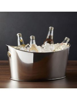Small Oval Party Beverage Tub by Crate&Barrel