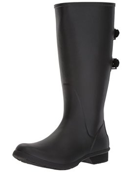 Chooka Women's Wide Calf Memory Foam Rain Boot by Chooka