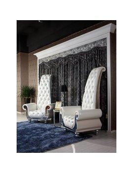 Mercer41 Berbor Luxe Tall Armchair & Reviews by Mercer41