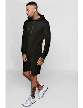 Active Gym Hoodie Short Tracksuit by Boohoo