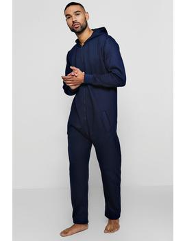 Zip Through Onesie by Boohoo