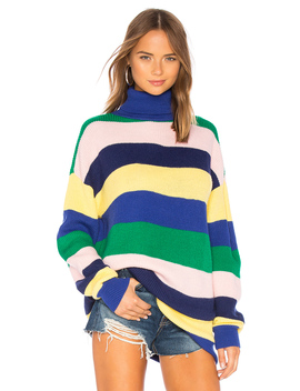 Marianne Stripe Sweater by Lovers + Friends