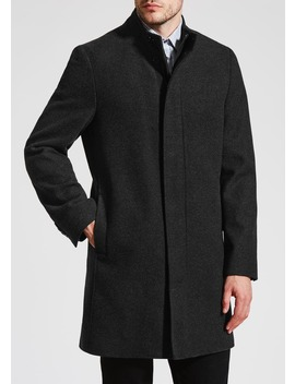 Thomas Funnel Neck Overcoat by Matalan