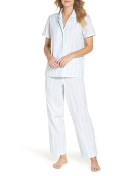 Striped Sleep Short Sleeve Pajamas by J. Crew