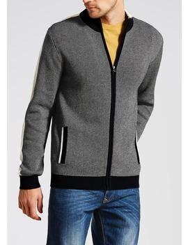 Knitted Zip Through Jacket by Matalan