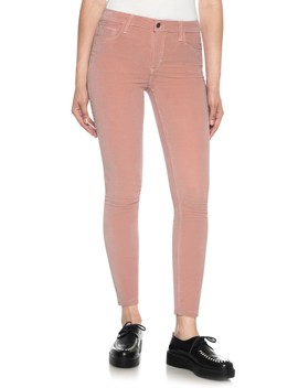 Icon Velvet Ankle Skinny Pants by Joe's Jeans