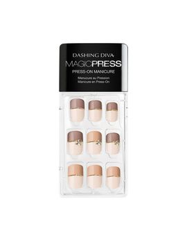 Magic Press On Nails Two Tone Temptation by Sally Beauty