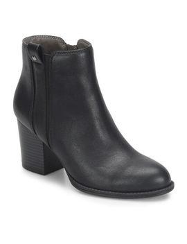 Eurosoft Womens Sabira Bootie Block Heel Zip by Eurosoft
