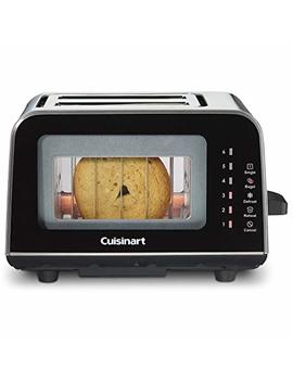 Cuisinart Cpt 3000 View Pro Glass 2 Slice Toaster, Black by Cuisinart