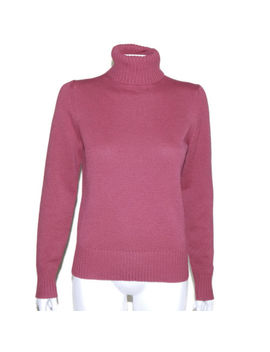 Brooks Brothers Cashmere Beautiful Rose Blush Turtleneck Sweater Smalll  Inv4827 by Brooks Brothers