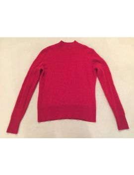 Investments Fine Cashmere Mock Neck 100 Percents Cashmere Sweater Women's Size Small S by Investments