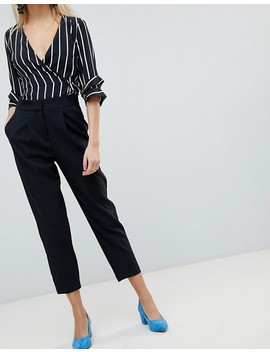 Warehouse   Pantaloni Sartoriali Con Pinces by Asos
