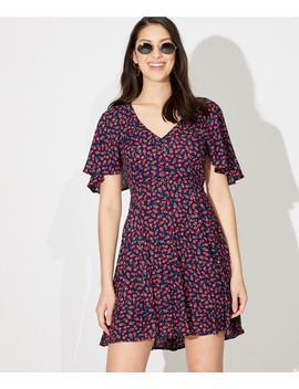 Butterfly Tea Dress by Sportsgirl