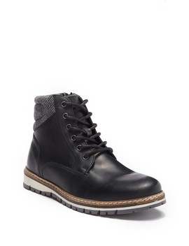 Evanns Leather Boot by Crevo