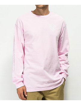 Spitfire Perennial Pink Long Sleeve T Shirt by Spitfire