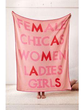 Calhoun & Co. Mamas Knit Throw Blanket by Calhoun & Co.