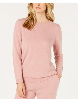 Cashmere Pajama Top, Created For Macy's by Charter Club