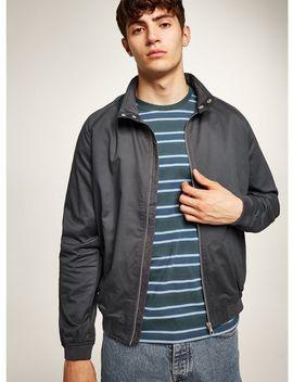 Grey Harrington Jacket by Topman