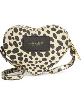 Heart Crossbody Bag by Little Marc Jacobs