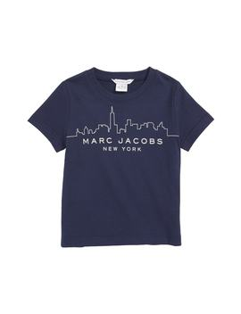 City Skyline Short Sleeve T Shirt by Little Marc Jacobs