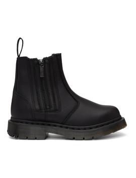 Black 2976 Alyson Zip Boots by Dr. Martens