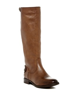 Fierce Knee High Equestrian Boot (Women) (Wide Calf) by Arturo Chiang