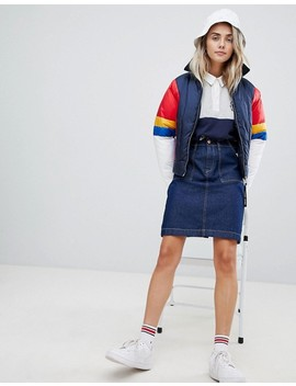 Tommy Jeans Color Block Padded Jacket by Tommy Jeans Capsule