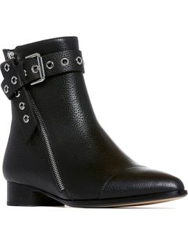 Mia Moto Buckle Strap Bootie by Paige