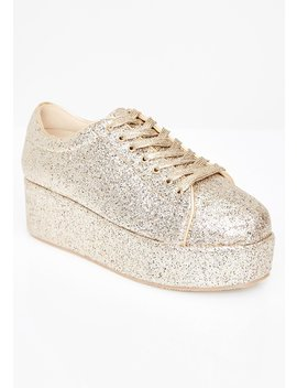 Goldie On A Sparkle High Platforms by Liliana