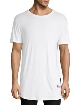 Short Sleeve Longline Tee by Helmut Lang