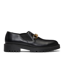 Black Darwin Loafers by Burberry