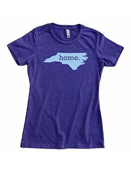 Homeland Tees Women's North Carolina Home T Shirt by Homeland Tees