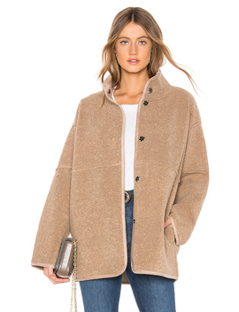Albany Lux Faux Sherpa Jacket by Velvet By Graham & Spencer